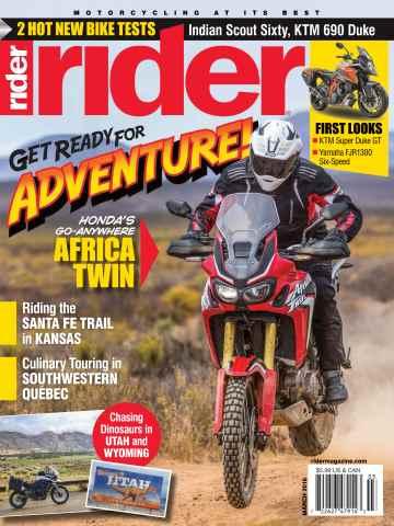 Rider Magazine issue March 2016
