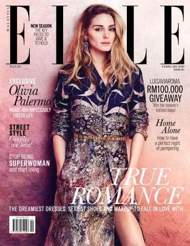 ELLE Malaysia issue February 2016