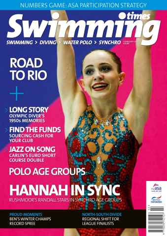 Swimming Times issue February 2016