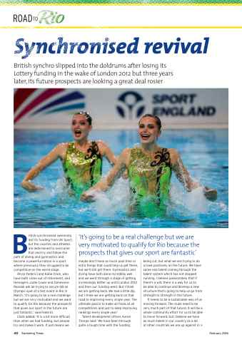 Swimming Times Preview 42