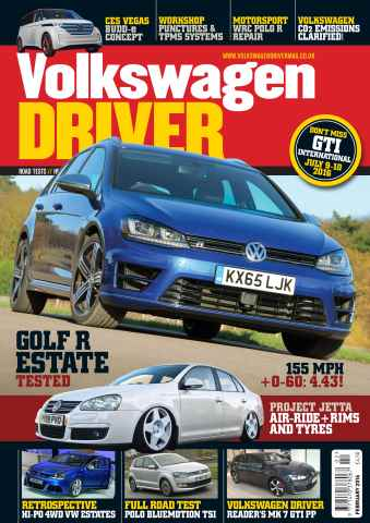 Volkswagen Driver issue February 2016