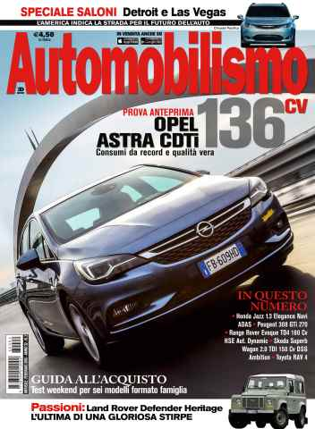 Automobilismo issue Automobilismo 2 2016