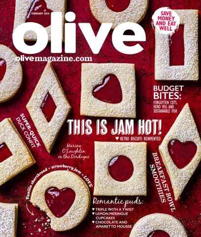 Olive Magazine issue February  2016
