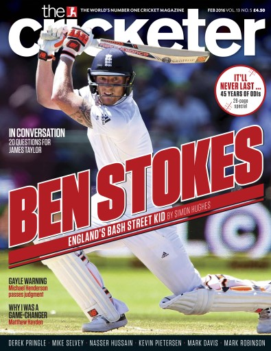 The Cricketer Magazine issue February 2016