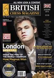 British Chess Magazine issue January 2016