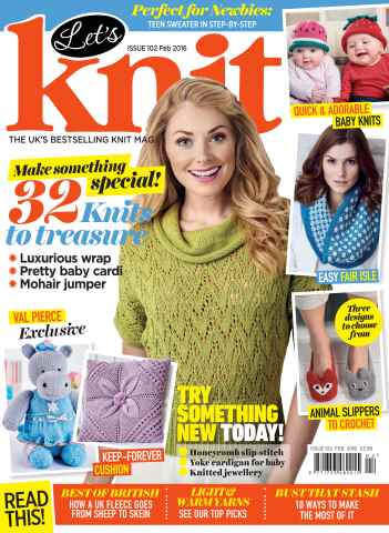 Let's Knit issue Feb-16