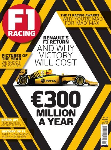 F1 Racing issue February 2016