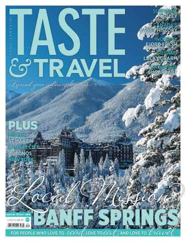 Taste & Travel International issue Winter 2016