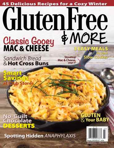 Gluten Free & More issue Feb/March 2016