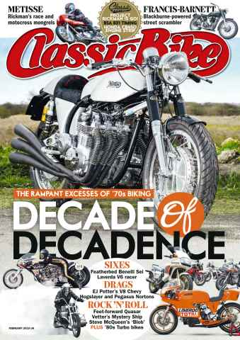 Classic Bike issue February 2016