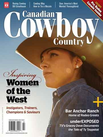 Canadian Cowboy Country issue Feb/Mar 2016