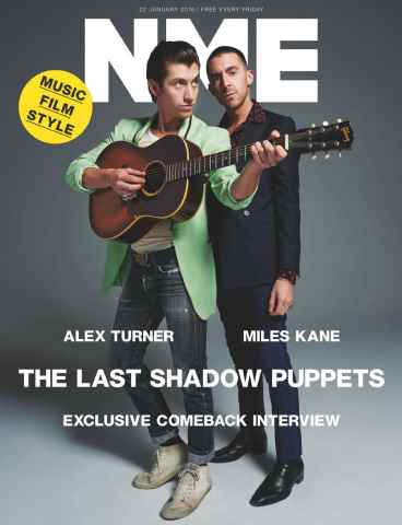 NME issue 22nd January 2016