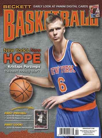 Beckett Basketball issue February 2016