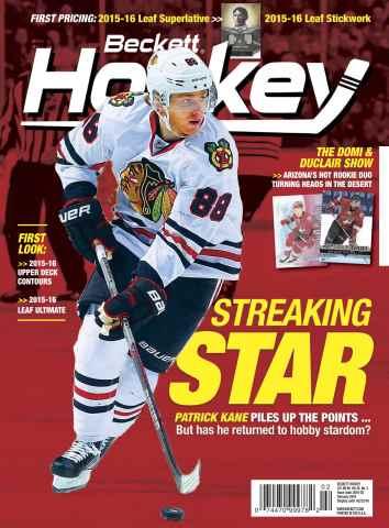 Beckett Hockey issue February 2016