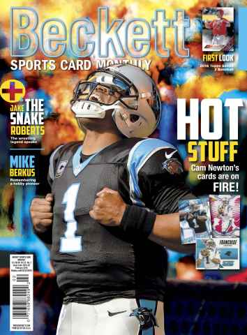 Sports Card Monthly issue February 2016