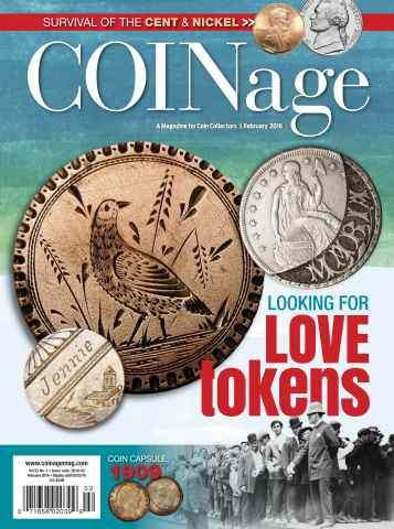 COINage issue February 2016