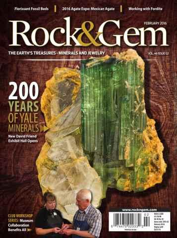 Rock & Gem Magazine issue February 2016