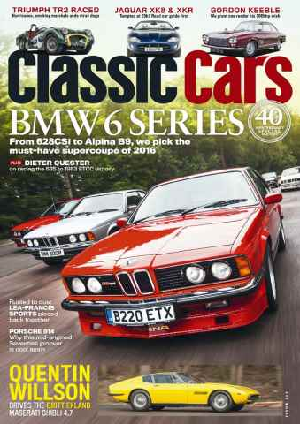 Classic Cars issue March 2016