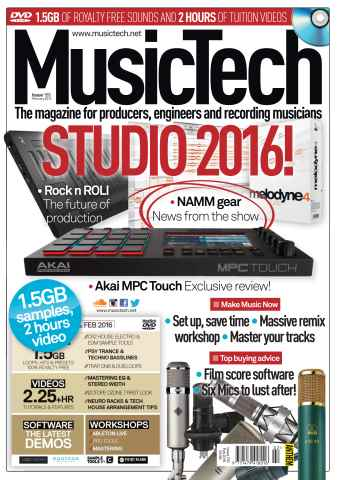 MusicTech issue Feb-16