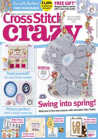 Cross Stitch Crazy issue March 2016