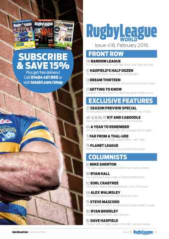 Rugby League World Preview 7
