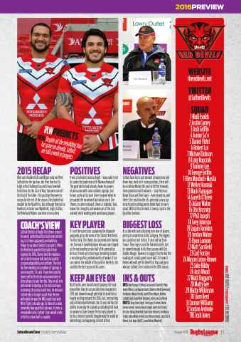 Rugby League World Preview 33