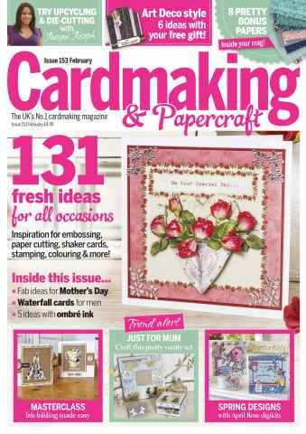 Cardmaking & Papercraft issue February 2016