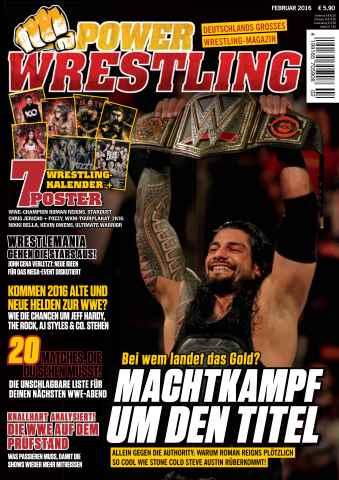 Power-Wrestling issue Februar 2016