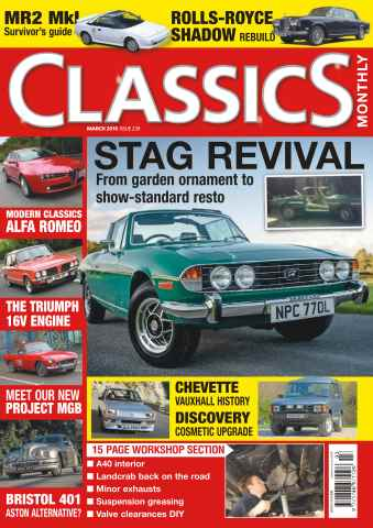 Classics Monthly issue No. 239 Stag Revival