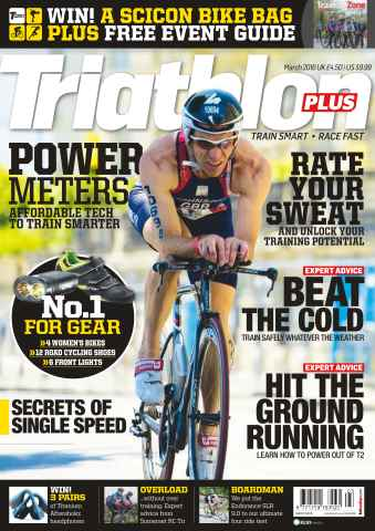 Triathlon Plus issue No. 90 Power Meters