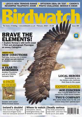 Birdwatch Magazine issue February 2016