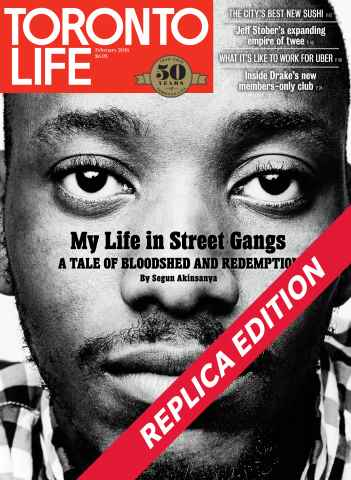 Toronto Life issue February 2016