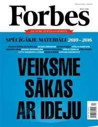 Forbes Janvāris '16 issue Forbes Janvāris '16
