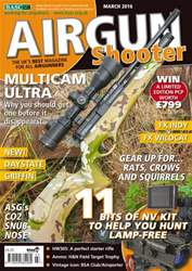 Airgun Shooter issue March 2016 - issue 079