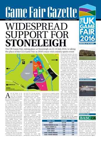 Airgun Shooter issue GameFair Gazette - December 2015