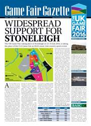 Sporting Rifle issue GameFair Gazette - December 2015