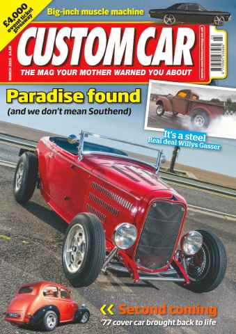 Custom Car issue No. 554 Paradise found