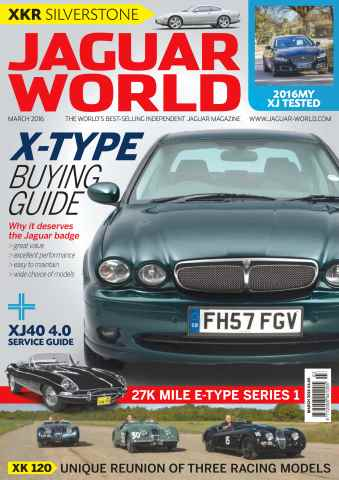 Jaguar World issue No. 168 X Type Buying Guide