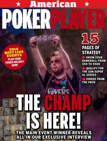 American PokerPlayer issue January 2016