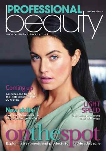 Professional Beauty issue PB February 2016