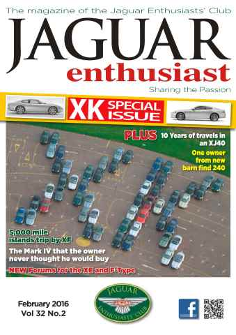Jaguar Enthusiast issue Vol. 32 No. 2 XK Special Issue