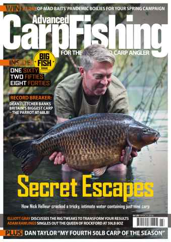 Advanced Carp Fishing issue March 2016