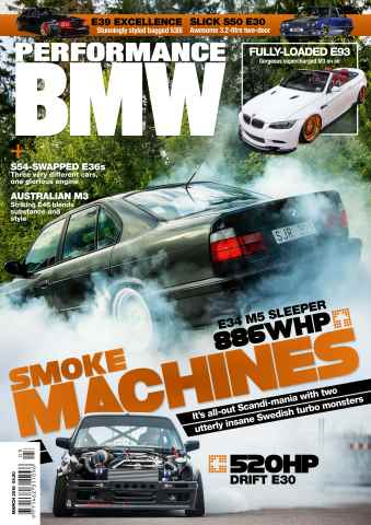Performance BMW issue March 2016