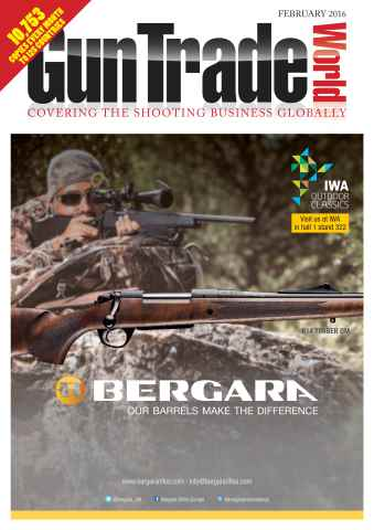 Gun Trade World issue February 2016