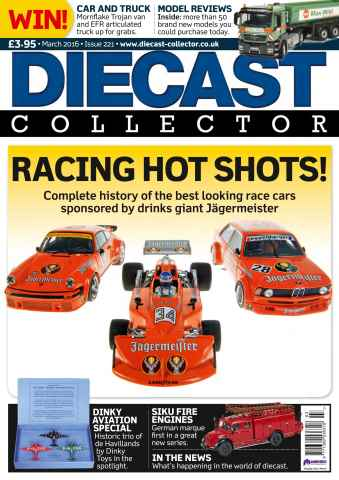 Diecast Collector issue March 2016