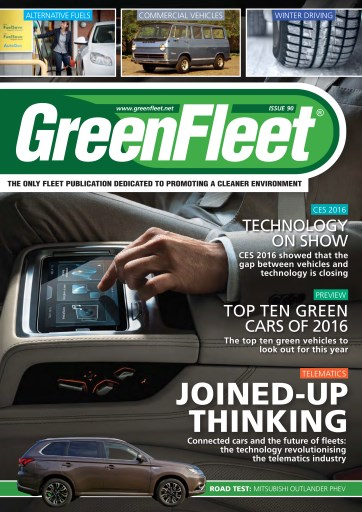 GreenFleet Magazine issue GreenFleet 90
