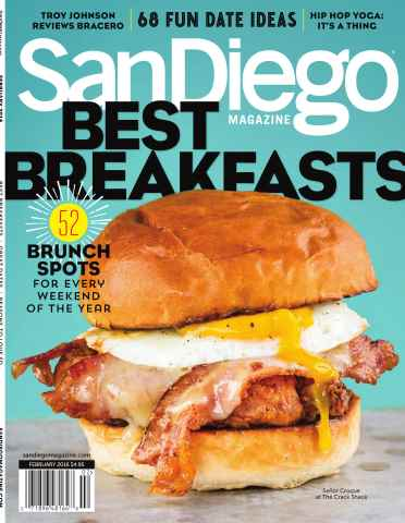 San Diego Magazine issue February 2016