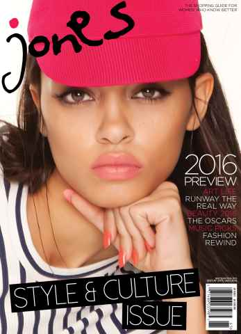 Jones Magazine issue Style & Culture Issue