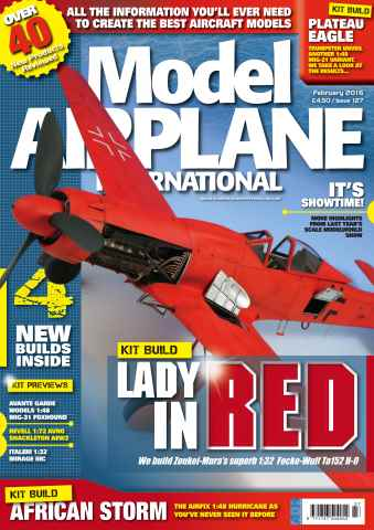 Model Airplane International issue 127
