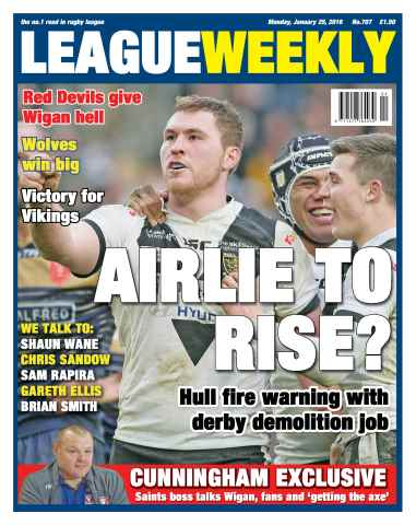 League Weekly issue 25/01/2016